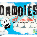 Marshmallows, vegan Dandies camp-size